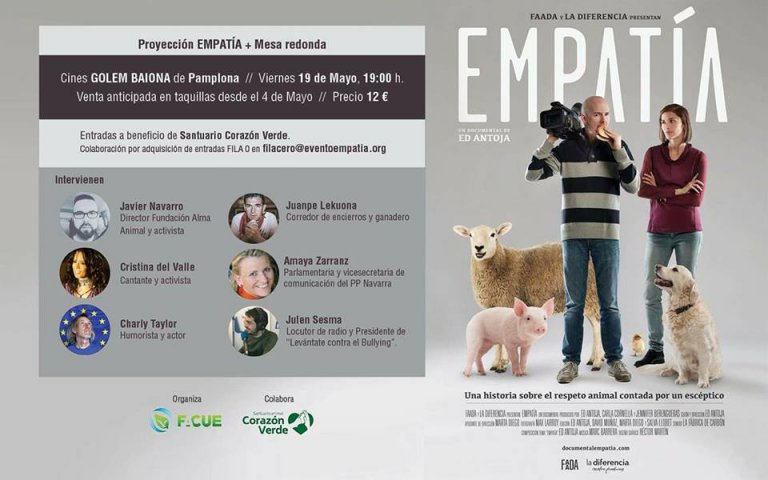 Proyección del documental empatía